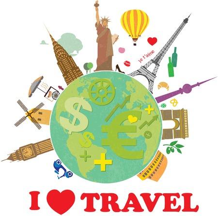 지구는 세계 여행