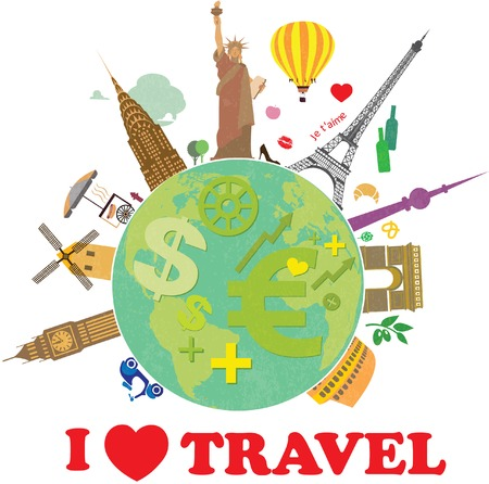 world travel: Planet earth travel the world