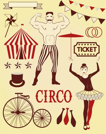 roving: Circus Starr getting showered ,vintage Poster