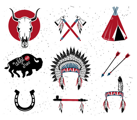 american tomahawk: Indian chief headdress ,indian chief mascot, indian tribal headdress, indian headdress.