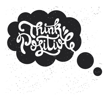typography vector: Hand drawn typography poster. Inspirational vector typography. Illustration