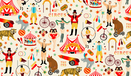 roving: Circus collection. Illustration