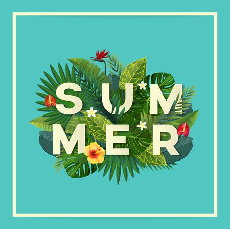 여름 벡터