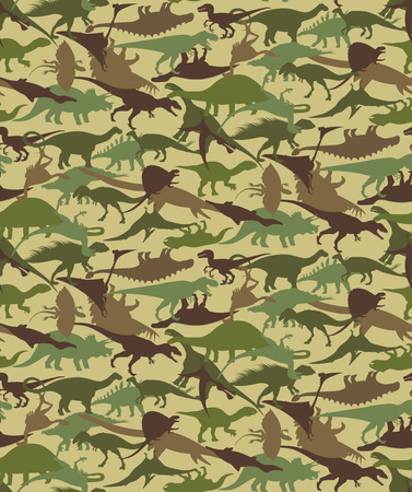 Dinosaurs seamless pattern. Stock Vector - 82258779