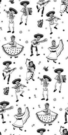 Day of the Dead. Dia de los Muertos. Archivio Fotografico - 138991880