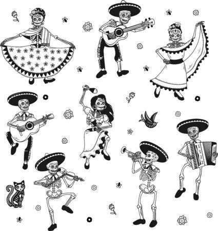 Day of the Dead. Dia de los Muertos. Archivio Fotografico - 138991883