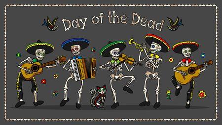 Day of the Dead. Dia de los Muertos. Archivio Fotografico - 138991888
