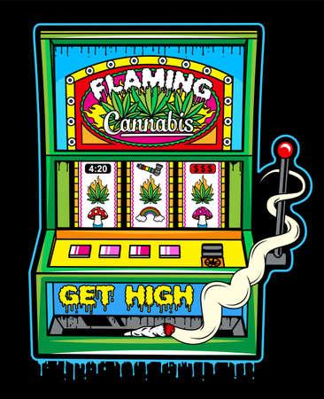 Cannabis Slot Machine.