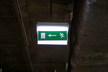 exit: exit sign
