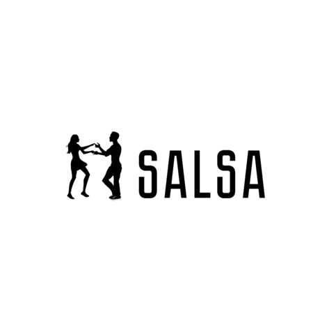 Salsa in the city. Street dancing. Beautiful couple dancing. Ilustrace
