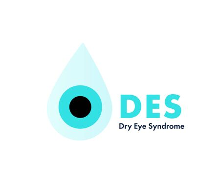 Dry eye syndrome. Eye remedy in drops. Woman hydrating her irritated eyes.