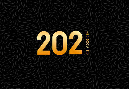 Class of 2021. Graduation Template for card