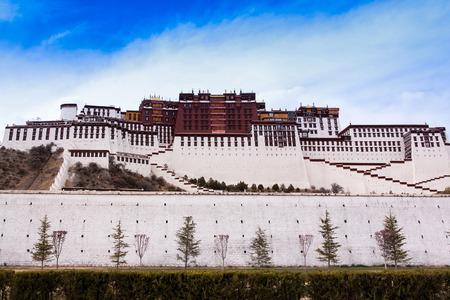 gelugpa: The Ancient Temple , Potala Palace  Lhasa, Tibet