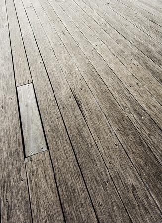 wharf: Wooden wharf Stock Photo