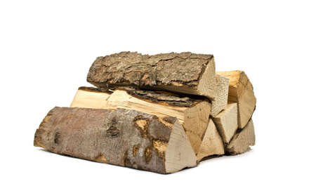 stack of firewood for the stove