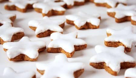 production of christmas cookies tasting like cinnamon photo