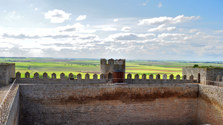 Castle of Montealegre de Campos, Valladolid, Spain