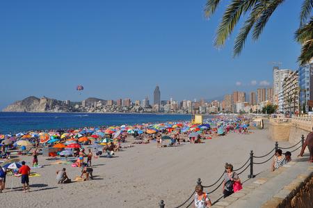 Benidorm beach, Alicante, Valencian Community, Spain