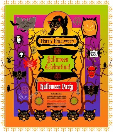 hissing: Halloween Elements