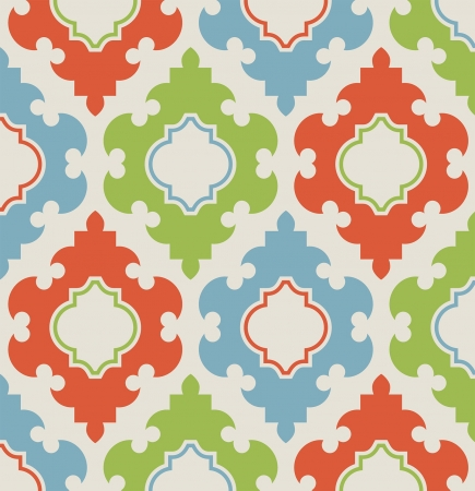 a seamless pattern both modern and with retro feel Stock Vector - 18868491