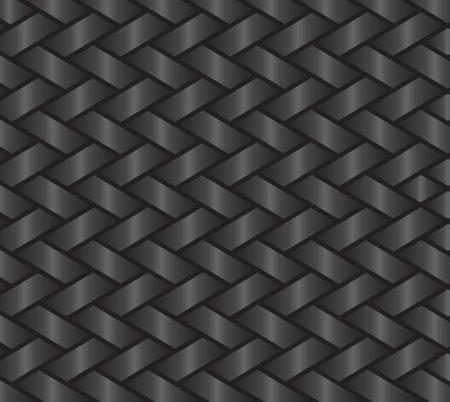 plaited: seamless background pattern