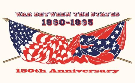 union: Bandiere della guerra civile americana 1860 - 1865