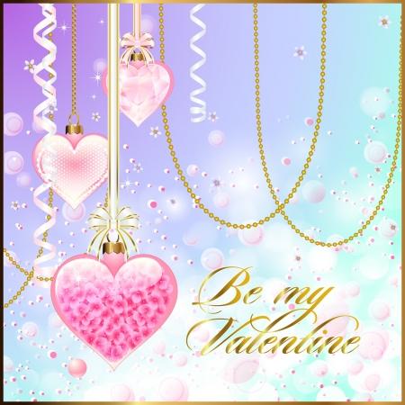 Glossy Valentijn Decoraties met Bokeh