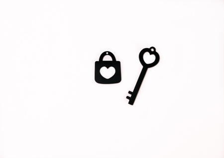 a key and the lock photo