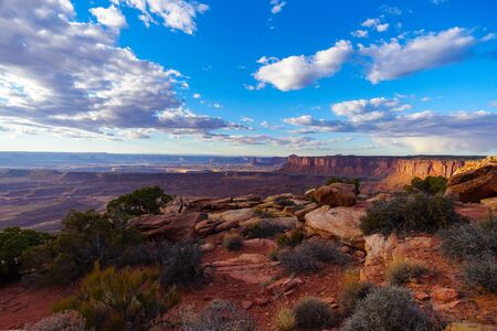 The depths and dimensions of Canyonlands National Park