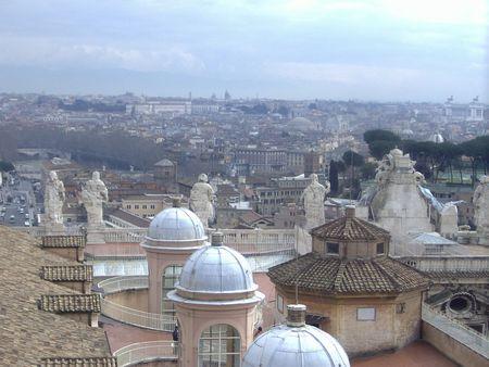 patronage: Saint Peters Square in Vatican (Rom, Italien)