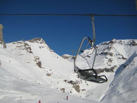 skiing photo