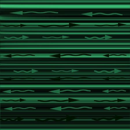 flechas curvas: L�neas rectas verde y negro con flechas curvas verde y negro que apunta hacia la izquierda o la derecha