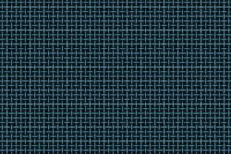backing: Blue woven pattern over black backing