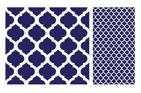 Vintage tiles patterns antique seamless design