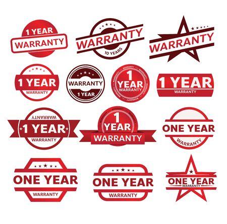 warranty shop promotion tag design for marketing