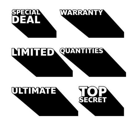 popup blackfriday sale shop promotion tag design for marketing Illusztráció