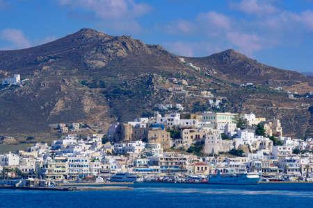 Naxos, a Greek island in Aegean Sea, Greece
