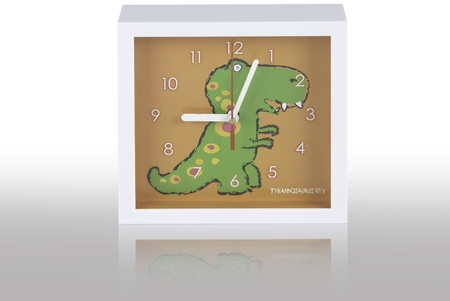 T rex clock Stock Photo - 8509396