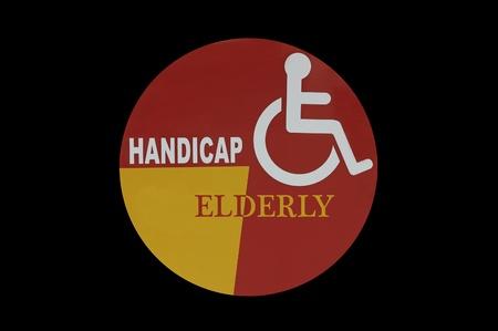 handicap sign photo