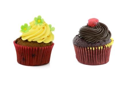 cake decorating: cupcake