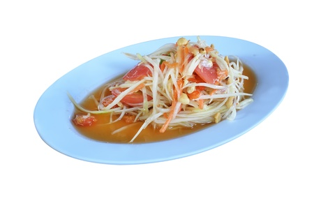papaya salad Stock Photo - 16986978