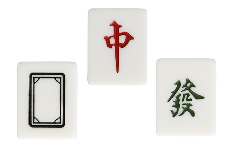 dragon in mahjong photo