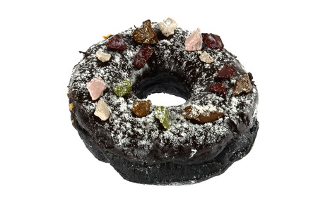 suger: pebble suger donut Stock Photo