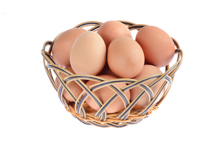 basketry: eggs in basketry
