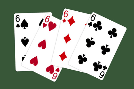 all six cards photo