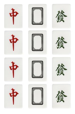 mahjong: mahjong all dragon suit
