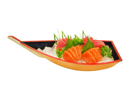 sashimi: sashimi boat