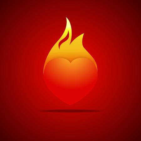 fire in heart