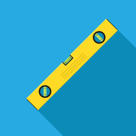 spirit level vector flat design