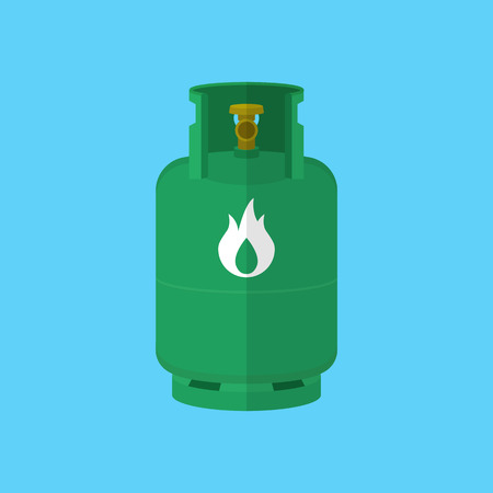 butane: Gas tank iocn Illustration